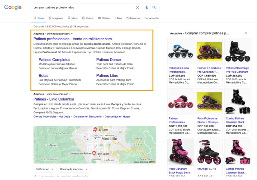 Analizar competencia para Google Ads